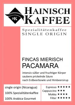 Fincas Mierisch Pacamara (250g)