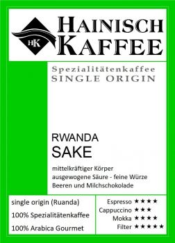 Rwanda Sake Kaffee (250g)