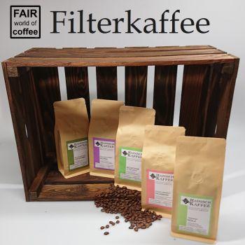 Filterkaffee Kennenlernpaket (5 x 250g)