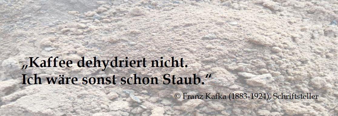 Franz Kafkas Kaffeespruch