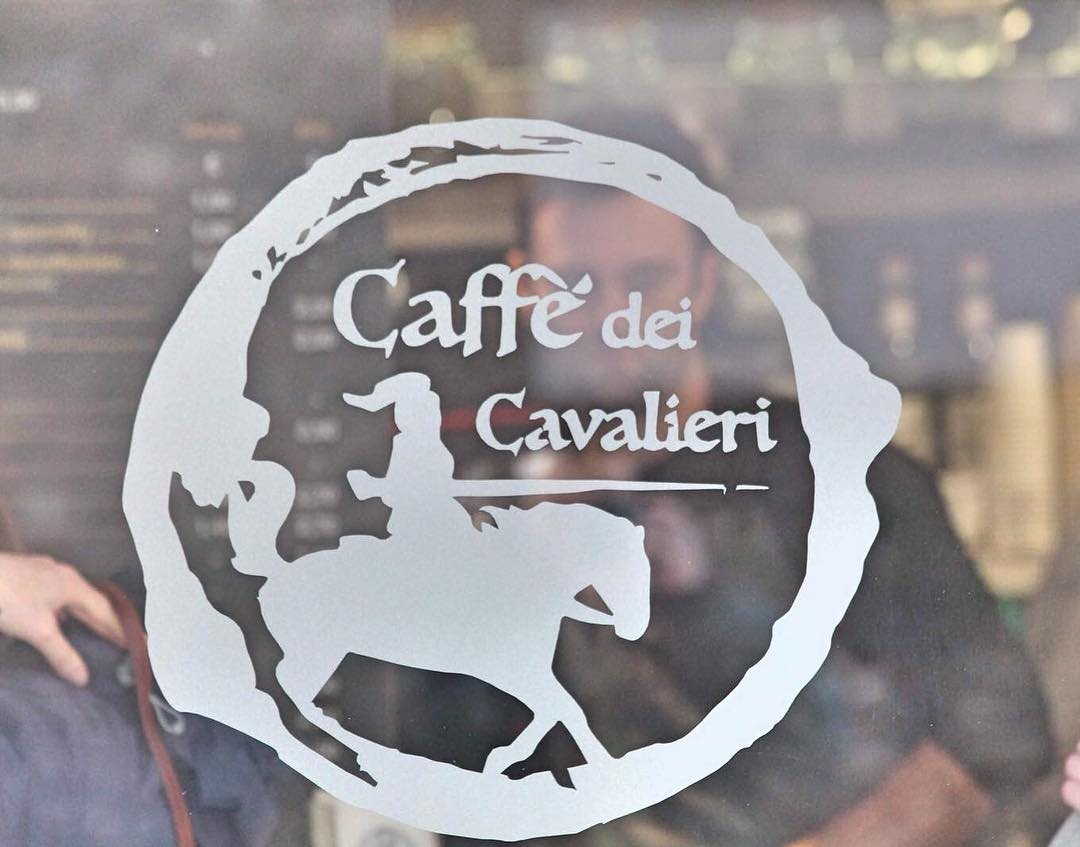 Logo caffee dei cavalieri
