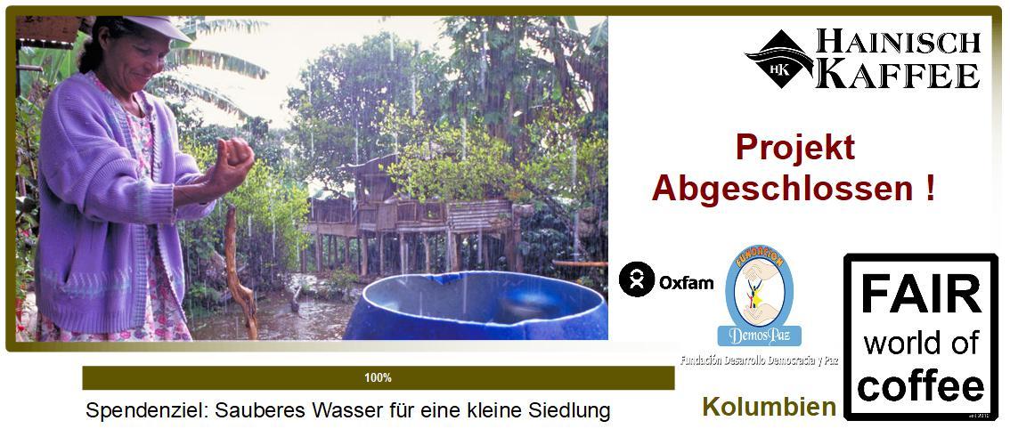 Projektbild Regenwasser für Awa-Familien