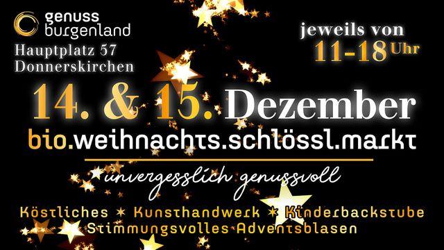 Plakat fuer Weihnachtsschloessl