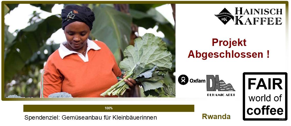 Projektgrafik Gemüseanbau für Kleinbäuerinenen