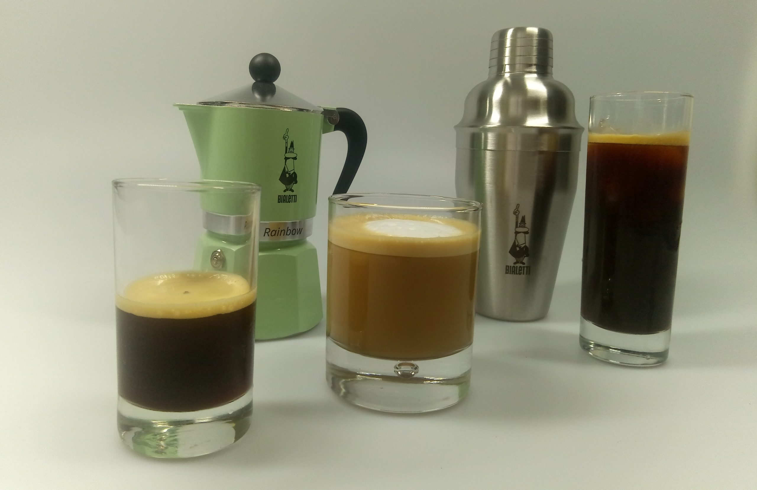 iced coffee Variationen
