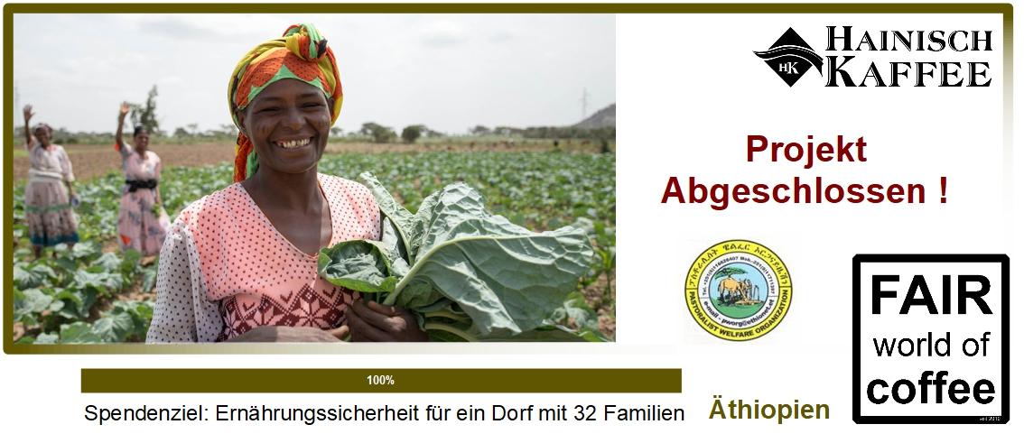Projektgrafik Ernährungssicherheit in Äthiopien