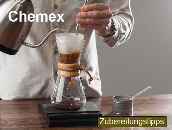 Zubereitungstipps für die Kaffeezubereitung mit einer Chemex Karaffe