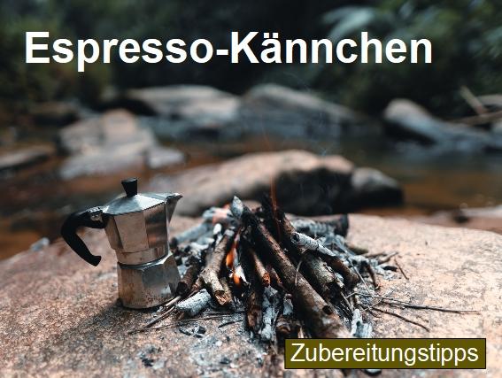 Zubereitungstipps für die Kaffeezubereitung mit einem italienischen Espressokännchen