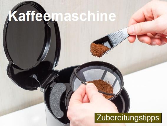 Zubereitungstipps für die Kaffeezubereitung mit einer Filter Kaffeemaschine