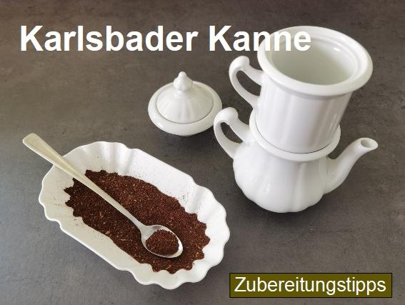 Zubereitungstipps für die Kaffeezubereitung mit der Karlsbader Kaffeemaschine